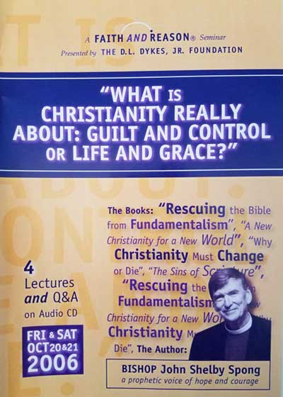 What is Christianity Really About: Guilt and Control or Life and Grace? (4 Audio CD set)
